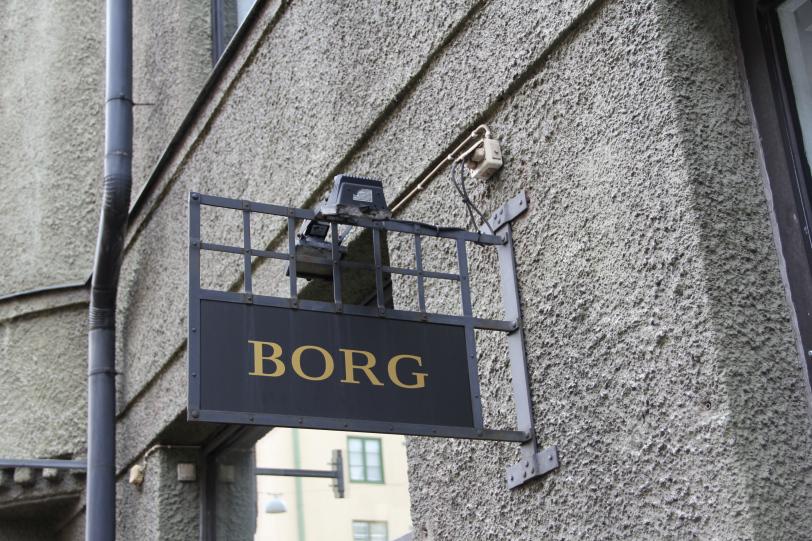 Sarjassamme erikoiset etunimet: Borg