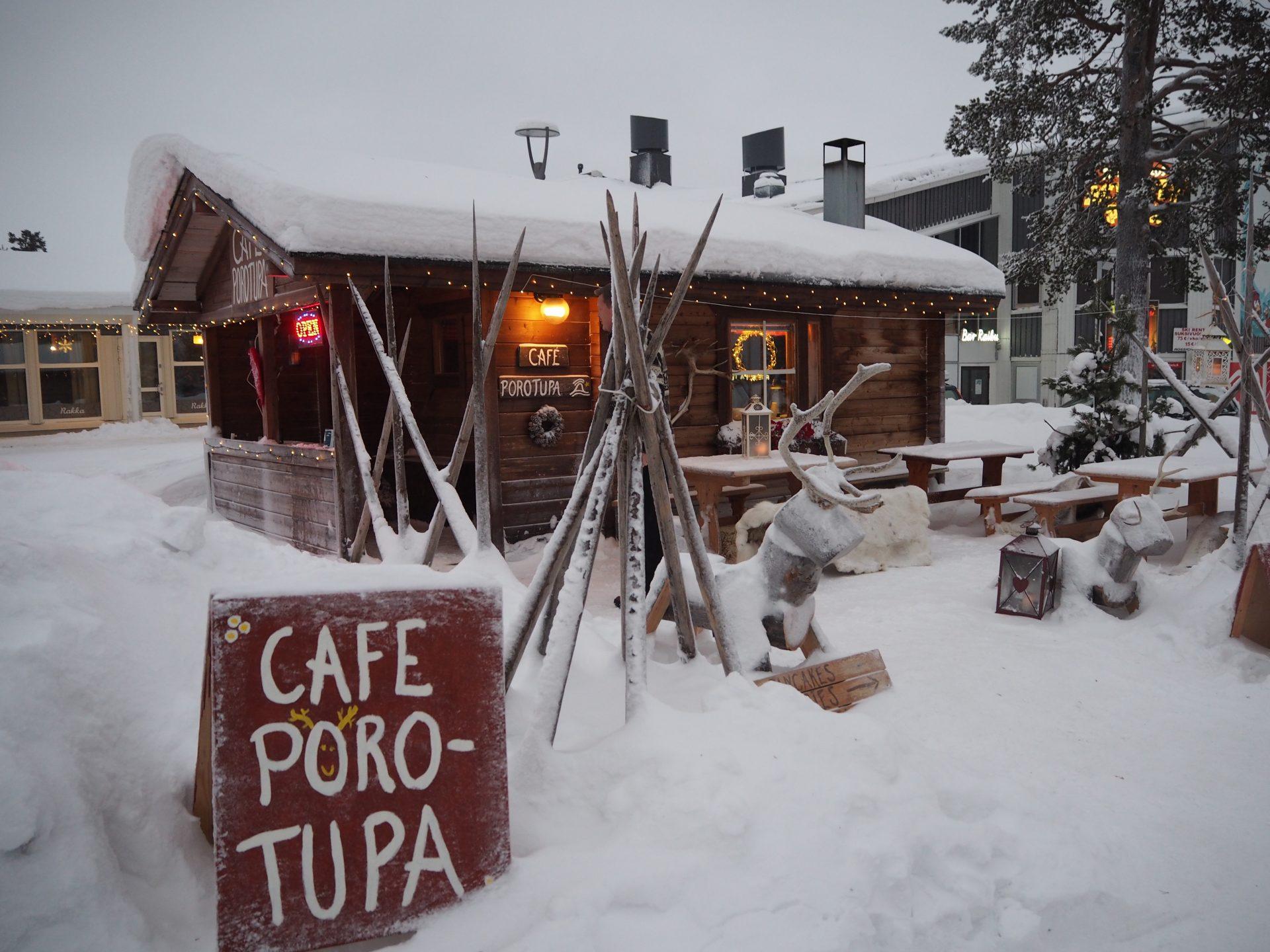 saariselka cafe porotupa