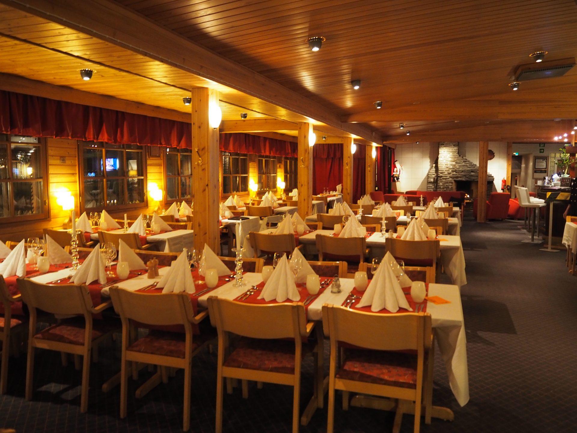 saariselka lumi ravintola lapsiystavallinen