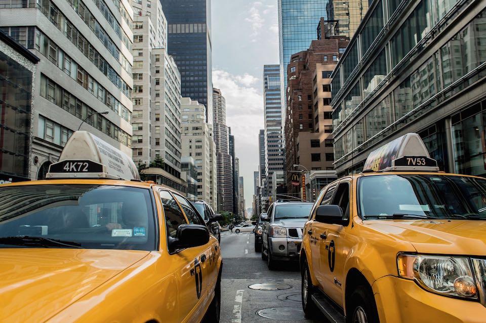 nyc lasten kanssa taksi