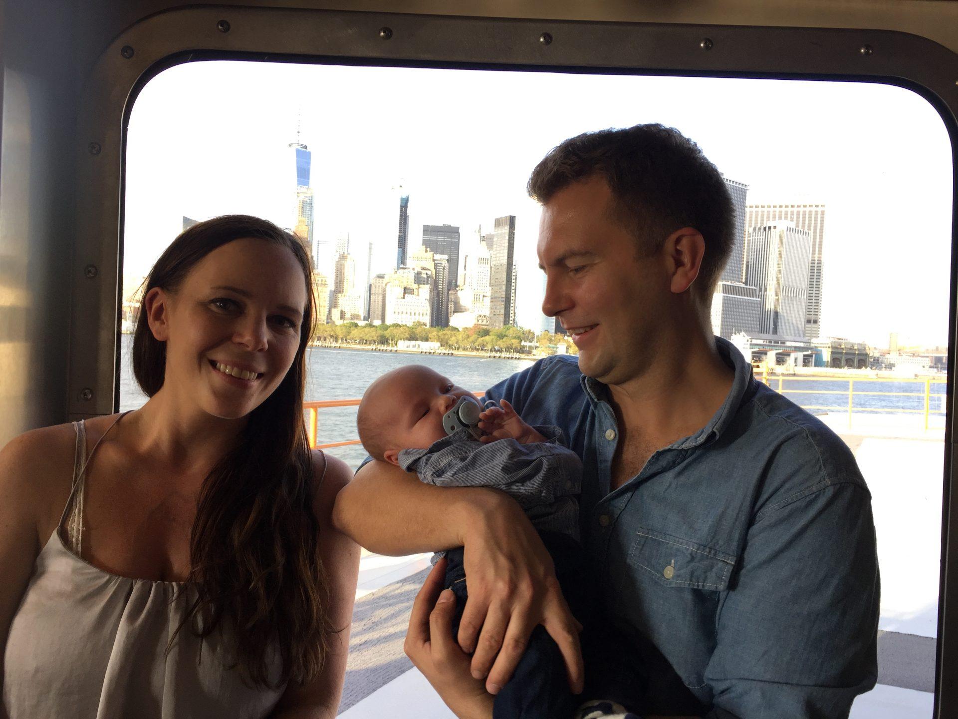 vauvan kanssa new york