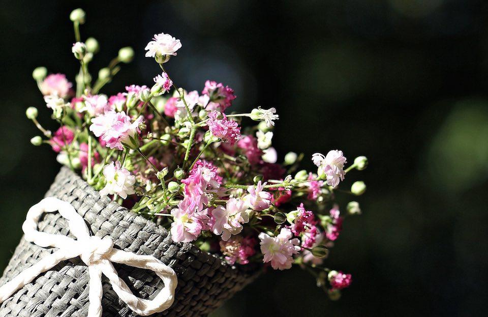 vauvaonnittelut kukkia