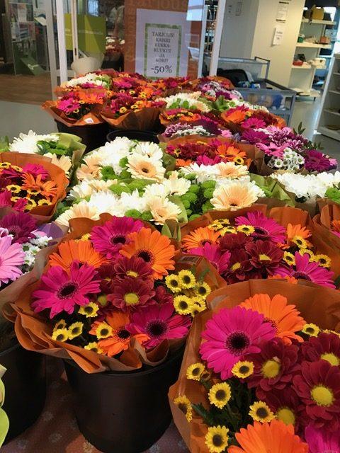kukkia edullisesti