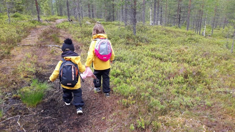 Eeron polku lasten kanssa