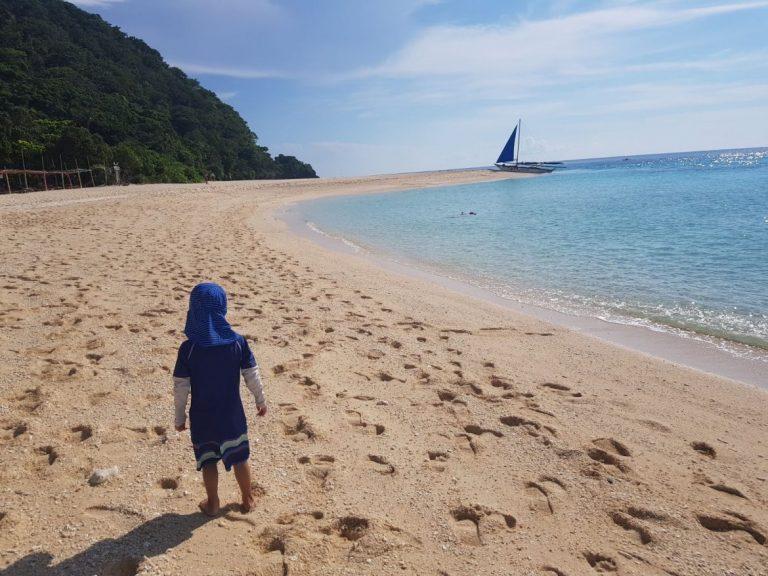 Boracay puka beach
