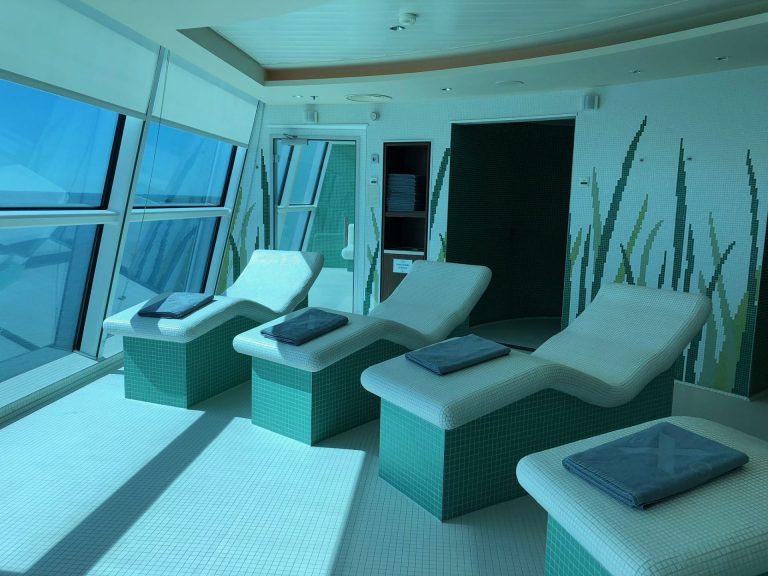 celebrity silhouette aqua spa