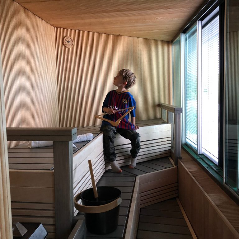 radisson blu sauna