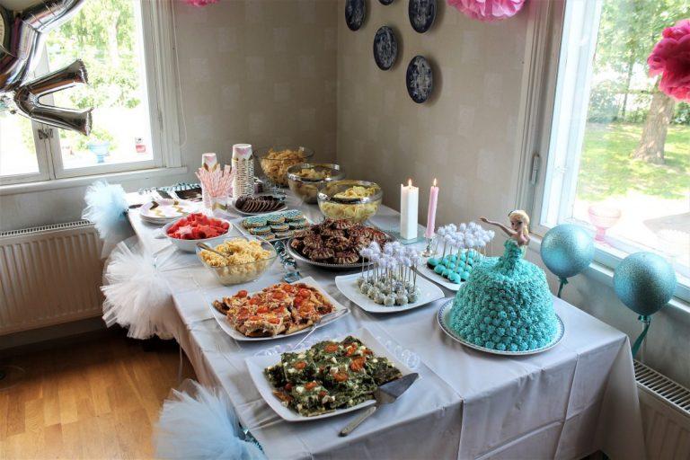 Syntymäpäiväjuhlien herkulliset tarjottavat