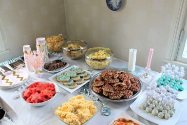 Syntymäpäiväjuhlien tarjottavat