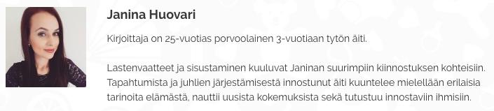 Janina-Huovari-lapsiarkea