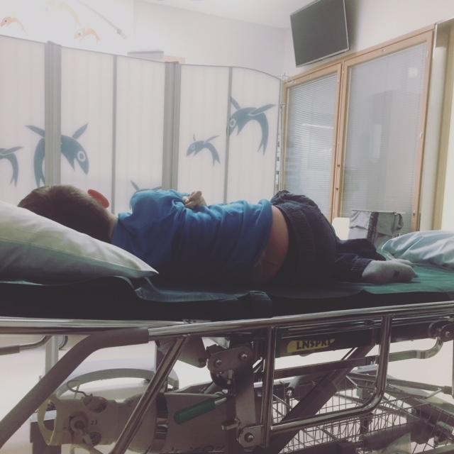 erityislapsi sairaalassa