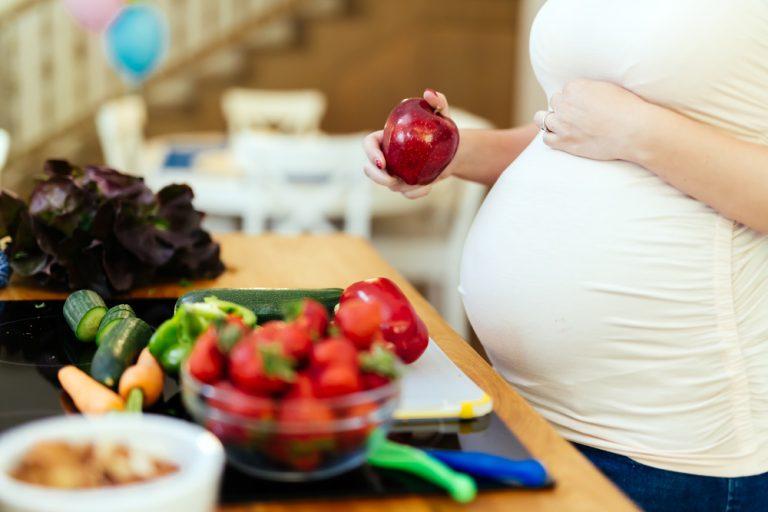 raskaus ja ruokavalio