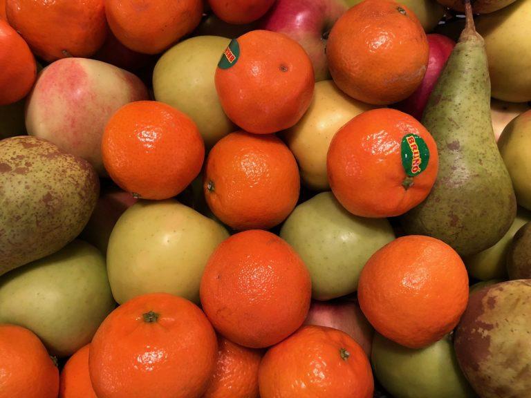 kasnas hedelmia