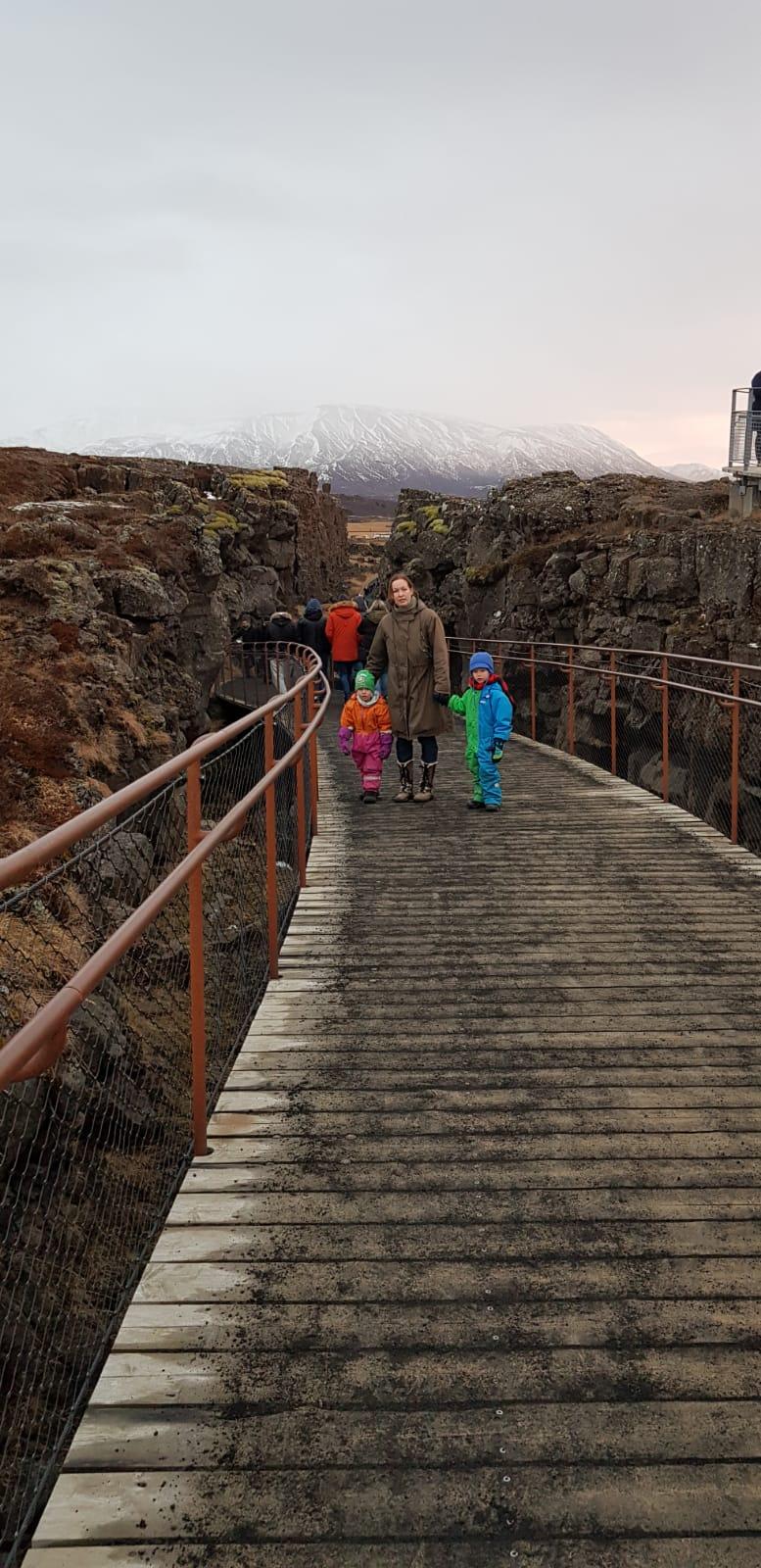 islanti lasten kanssa
