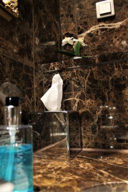 Kylpyhuoneen yksityiskohdat