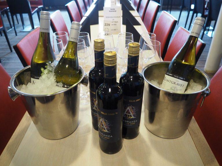 silja line viinit