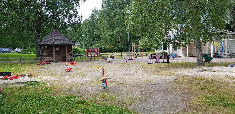 linnanpuiston leikkipaikka