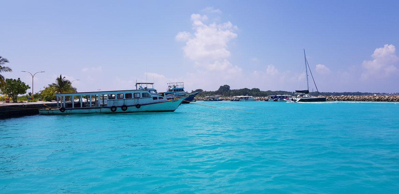 Malediivit Ukulhas satama