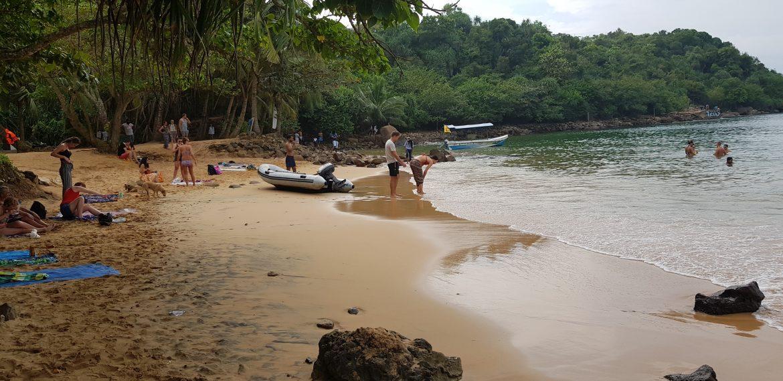 jungle beach lasten kanssa