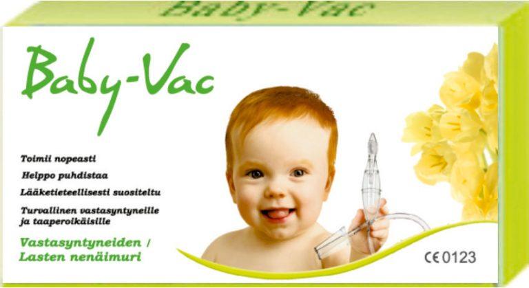 babyvac-lapsiarkea