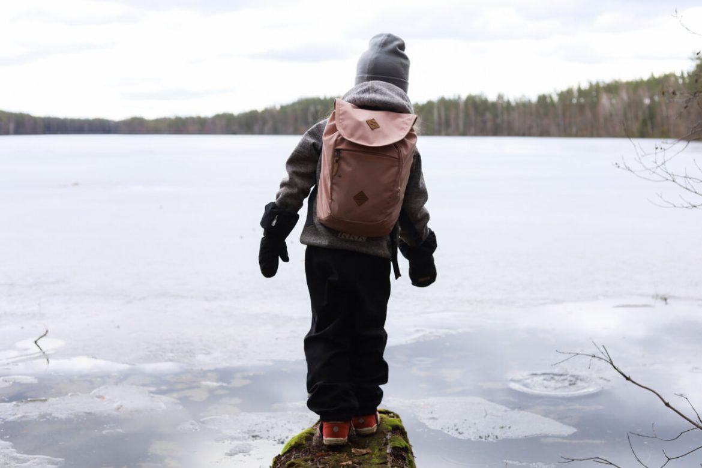 lasten kanssa retkeily