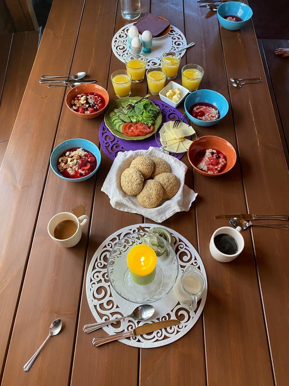 cafe mandala aamiainen