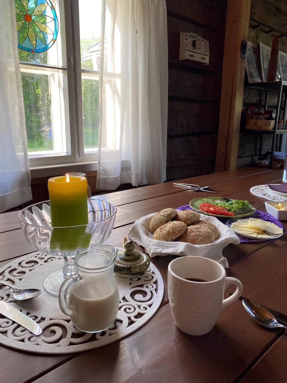 kolin keidas aamiainen