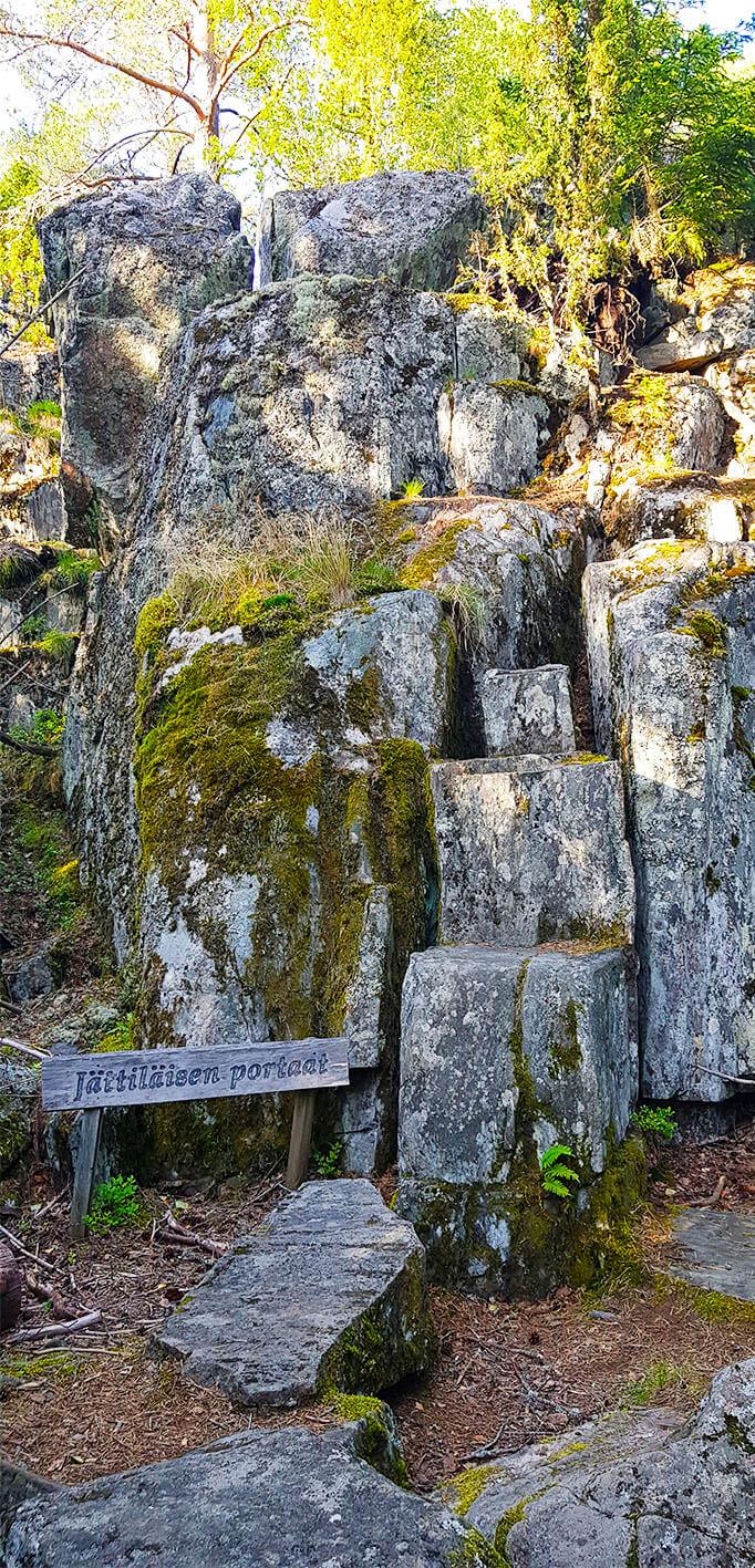 jättiläisen portaat
