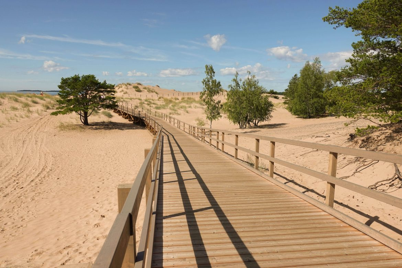 hiekkarannat yyterissä