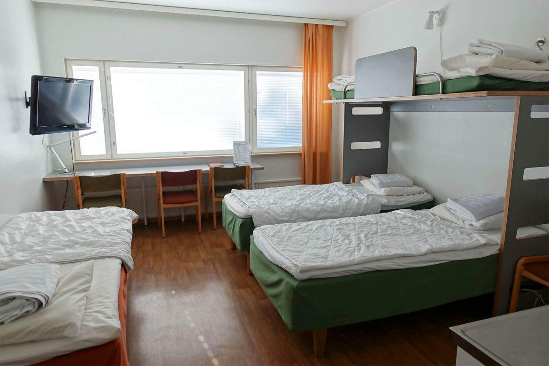 turku nähtävyydet hostel linnasmäki perhehuone