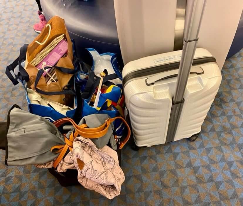 ahvenanmaa lasten kanssa matkatavarat