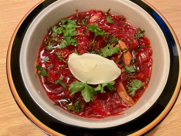 borsh-keitto resepti