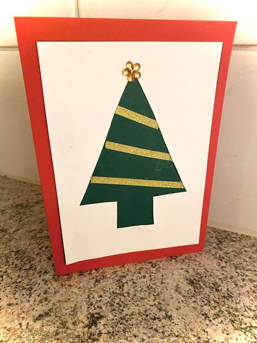 joulukorttiaskartelut joulukuusi