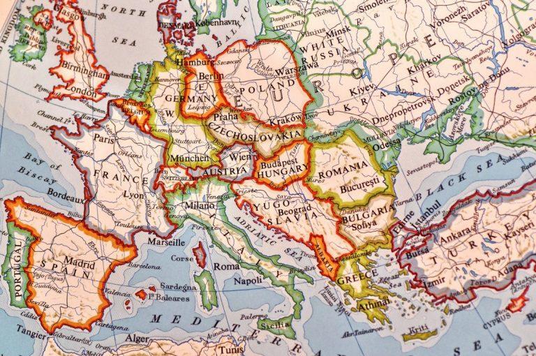 euroopan suosituimmat nimet