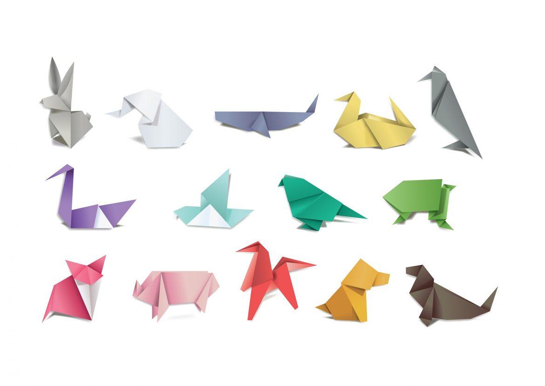 askarteluja lapsille origami
