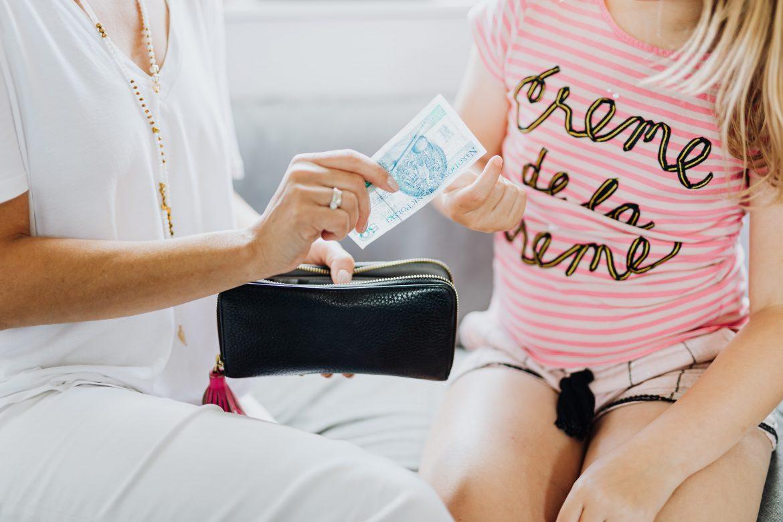 lapsen taloustaidot opettaminen