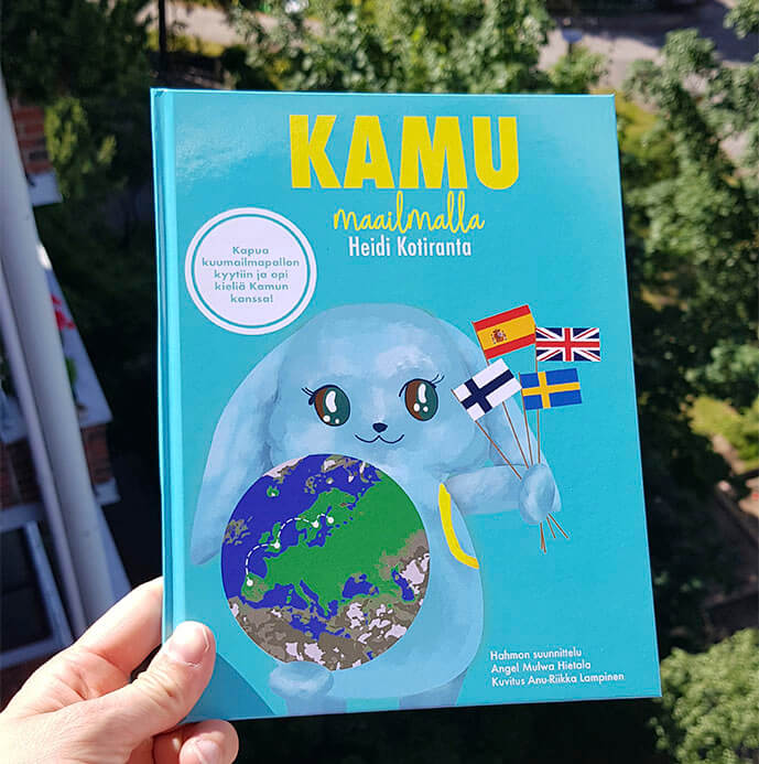 kamu maailmalla vieraan kielen oppiminen